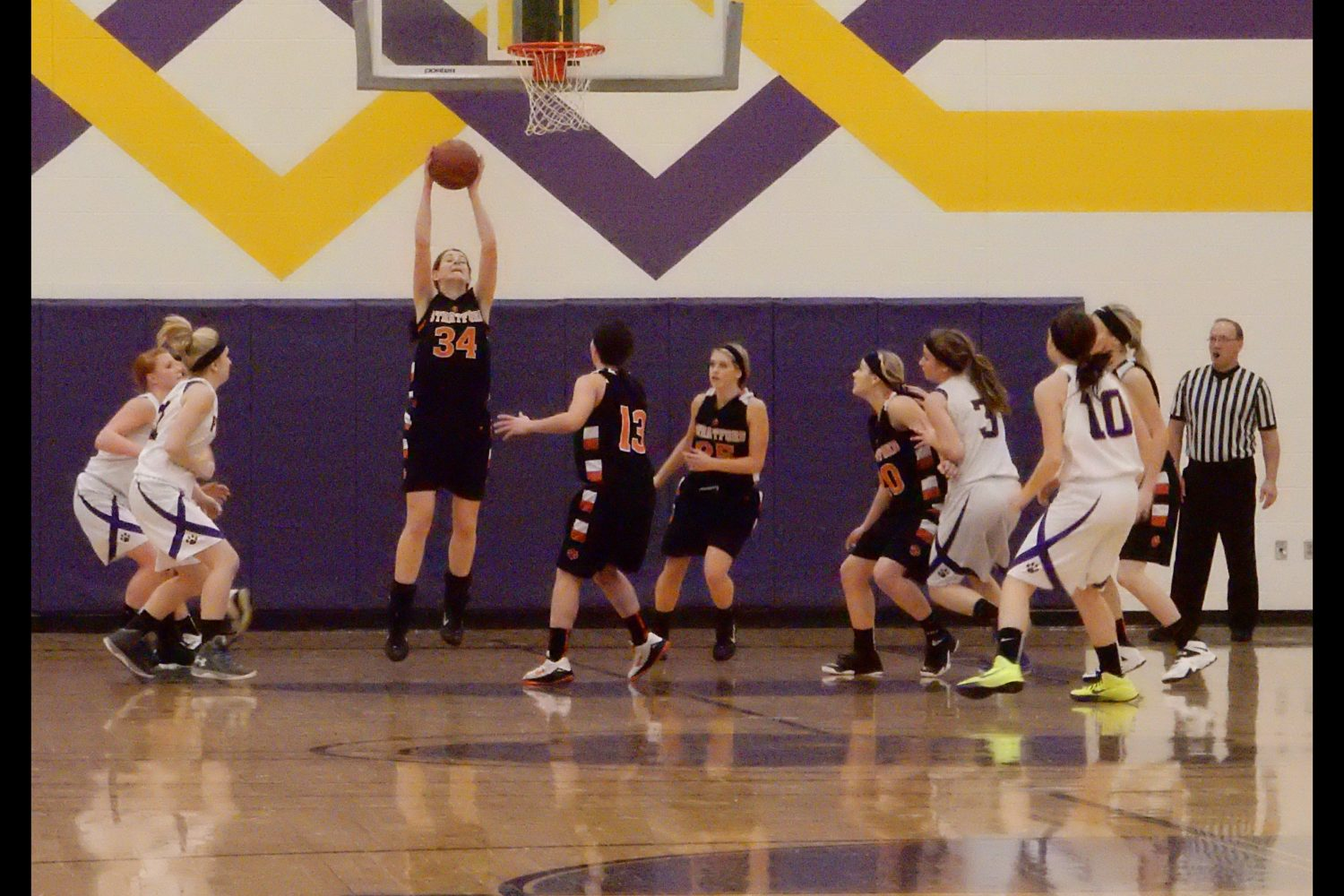 Stratford Tigers Pittsville Panthers 2/6/2015