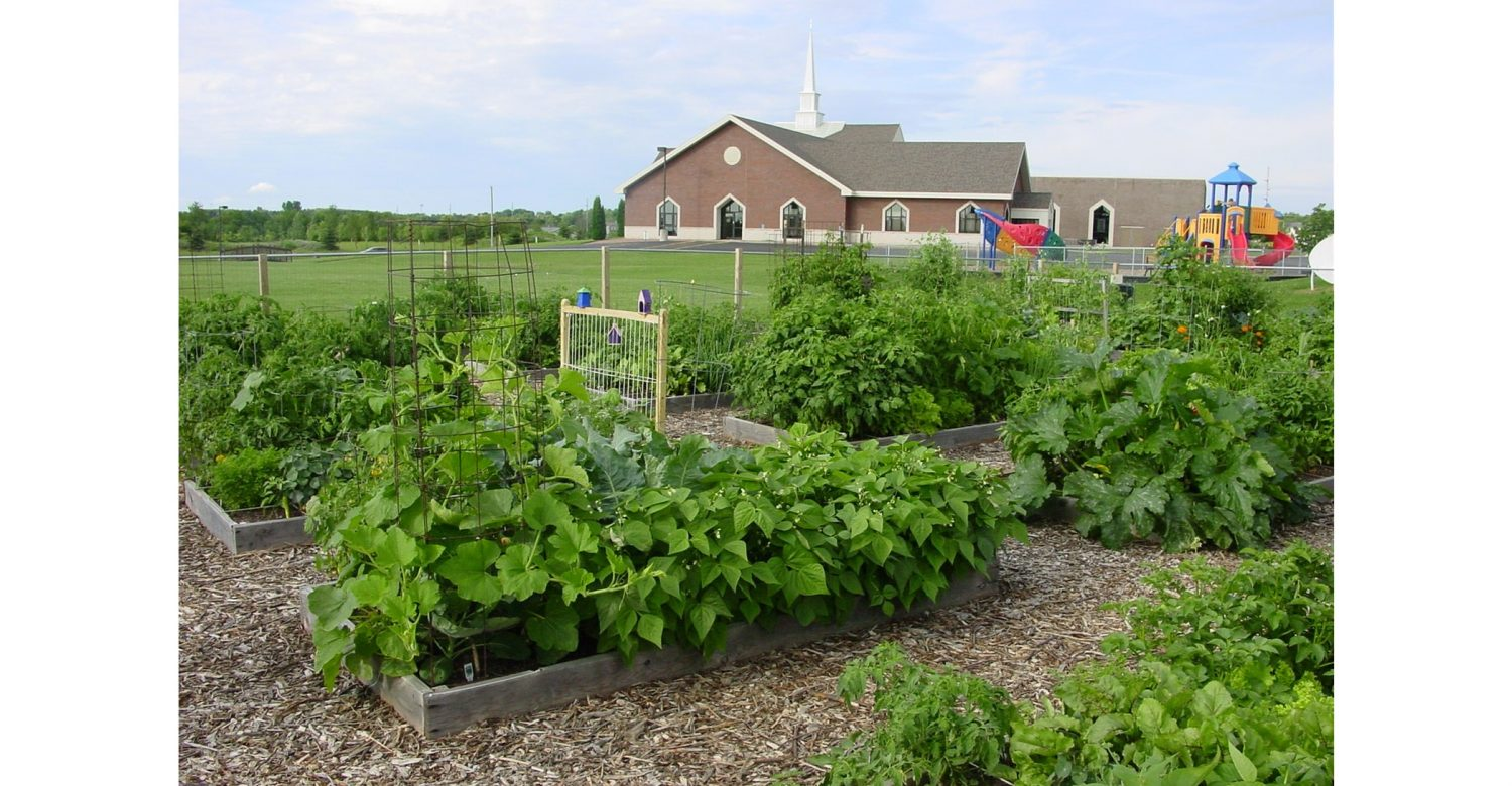 community garden first Presbyterian Church