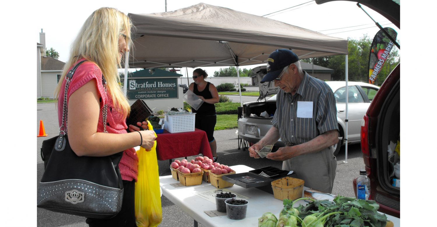 stratford farmers market amanda spindler don tiger wenzel potatoes