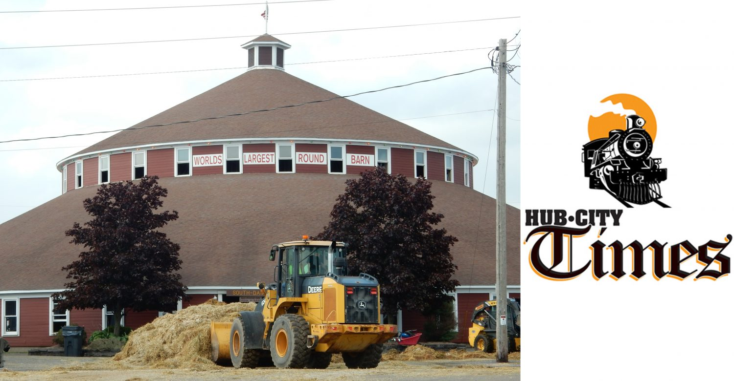 The World's Largest Round Barn at the Central Wisconsin State Fairgrounds in Marshfield is 100 years old this year.