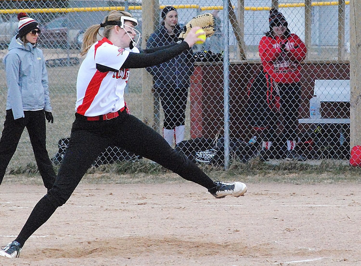 Spencer senior pitcher Macie Weber was named the Cloverbelt Conference East Division Softball Player of the Year after going 9-0 on the mound during conference games this season.