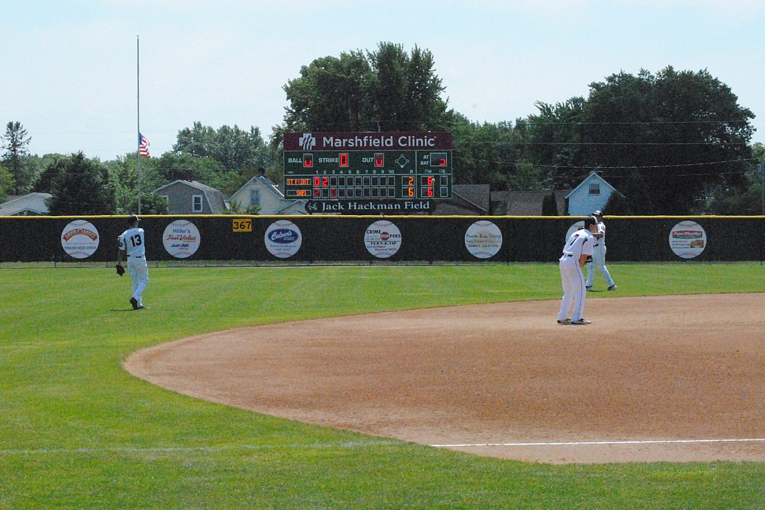 Jack Hackman Field in Marshfield will be the home for the 2016 Wisconsin American Legion Class AAA State Tournament, which will be held Tuesday, July 26, through Saturday, July 30. Eight teams from across Wisconsin, including Marshfield, will compete in the double-elimination tournament.