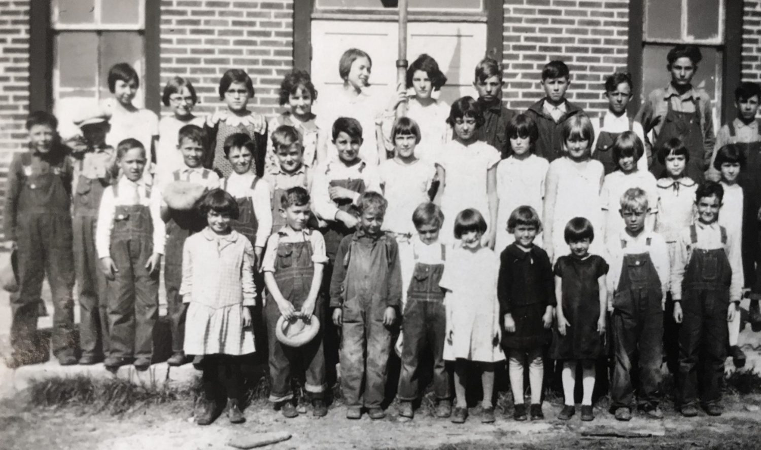 Ivy Sorenson's first teaching position was at Sunshine School in 1928.